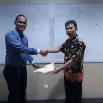 Penyerahan sertifikat